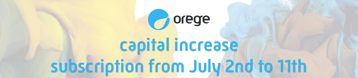 Capital increase